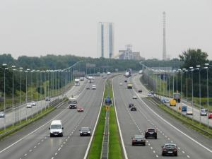 Duże utrudnienia w ruchu na autostradzie A4 w okolicach Węzła Mysłowice