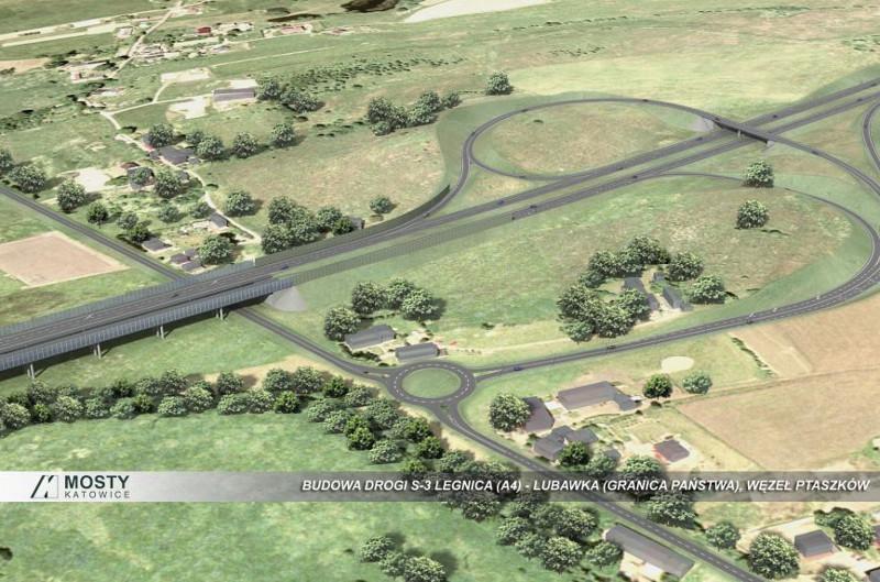 Taka będzie przyszła droga ekspresowa S3 prowadząca do Lubawki.