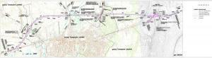 Obwodnica Tomaszowa Lubelskiego w ciągu drogi S17 - mapa przebiegu