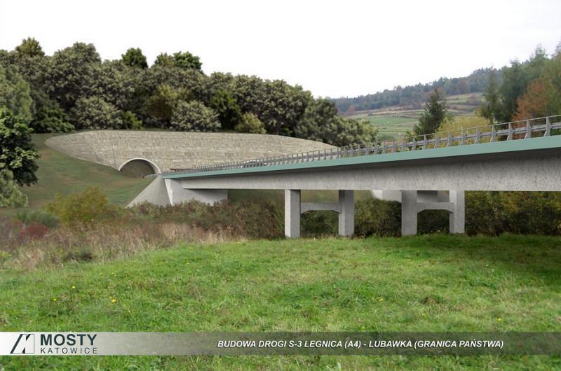 Droga ekspresowa S3 Legnica - Lubawka - wizualizacje