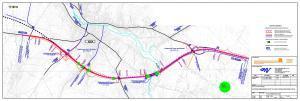 Mapa obwodnicy Iłży w ciągu drogi krajowej nr 9