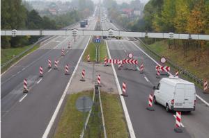 DK94: Wymiana dylatacji na estakadach w Sławkowie
