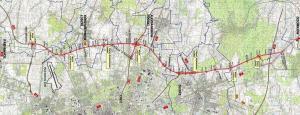 Droga ekspresowa S14 - mapa przebiegu zachodniej obwodnicy Łodzi