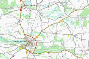 DK25: Obwodnice Sępólna i Kamienia Krajeńskiego za kilka lat na mapie