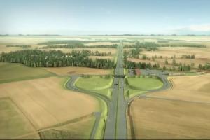 Strabag wybuduje 24-km odcinek drogi S6 Ustronie - Koszalin