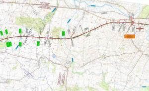 Droga ekspresowa S6 Ustronie Morskie - Koszalin: mapa odcinka Ustronie - Borkowice