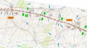 Droga ekspresowa S6 Ustronie Morskie - Koszalin: mapa odcinka Borkowice - Dobre