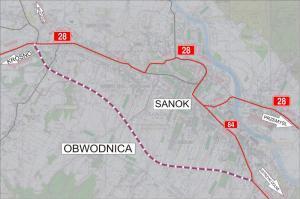 GDDKiA wybiera wykonawcę obwodnicy Sanoka w ciągu DK28