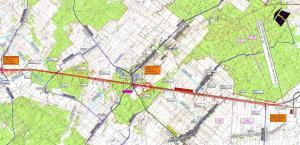 Droga ekspresowa S17 Garwolin - Kurów: mapa odcinka Skrudki - Kurów/Sielce