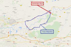 Małopolska: Zamkną most w Nowym Brzesku na DW775