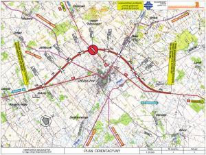 Droga ekspresowa S61 - mapa obwodnicy Szczuczyna w ciągu trasy via Baltica