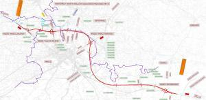 Droga ekspresowa S10 - mapa przebiegu obwodnicy Wałcza