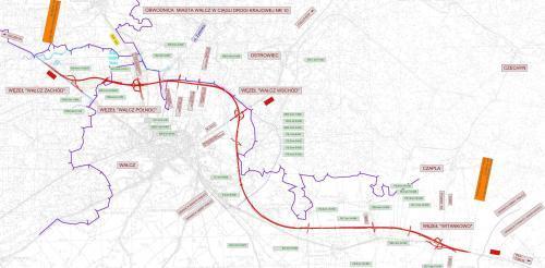 Droga Ekspresowa S10 Mapa Przebiegu Obwodnicy Walcza Mapy I