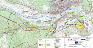 Droga ekspresowa S10. Mapa przebiegu odcinka Solec Kujawski - Toruń