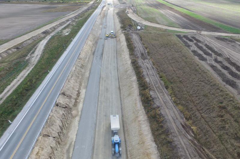 Budowa S7 Jędrzejów - granica województwa: Zmiany na węźle w Łączynie