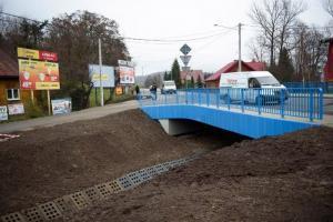Sprawniej po DW977 Tarnów – Gorlice. Otwarto most w Gromniku