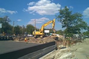 Warszawa: Budowa tunelu w Międzylesiu idzie zgodnie z planem