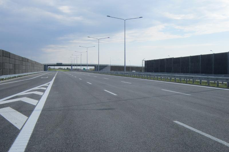 Węzeł Opacz w ciągu drogi ekspresowej S8 w Warszawie