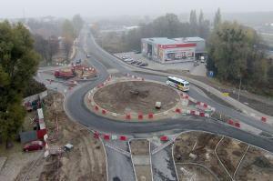 Budowa obwodnicy Brodnicy: Otwarcie ronda