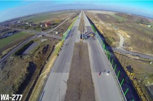 Autostrada A1 Stryków – Tuszyn w sierpniu 2016 r.