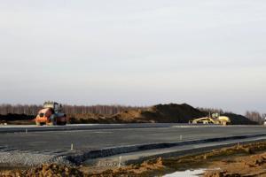 Zima nie przeszkadza budowie dolnośląskiego odcinka drogi ekspresowej S5