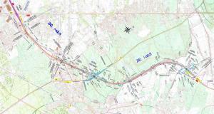 Obwodnica Marek: mapa przebiegu odcinka drogi S8 Marki - Kobyłka