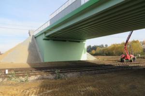 Łódzkie: Nowy wiadukt na DW726 w Dęborzeczce