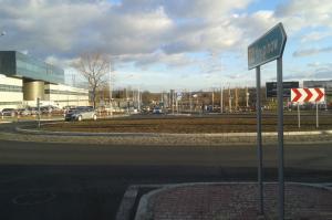Kraków: 6 rond na DW774 ułatwi dojazd do lotniska w Balicach