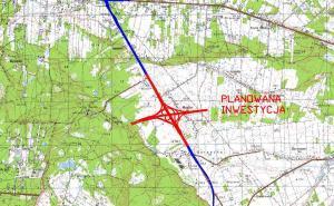 Mapa: Węzeł Lubelska w ciągu drogi ekspresowej S17 (obwodnica Warszawy)