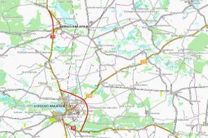 DK25: Rozpoczyna się planowanie obwodnic Sępólna i Kamienia Krajeńskiego