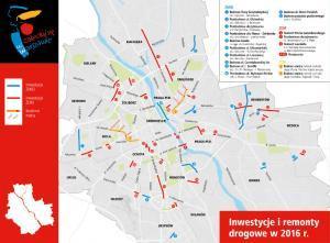 Warszawa: Metro, nowe inwestycje i 30 km dróg do remontu – to plany na 2016 r.
