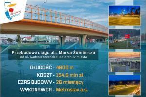 Warszawa: Trasa Siekierkowska będzie dłuższa