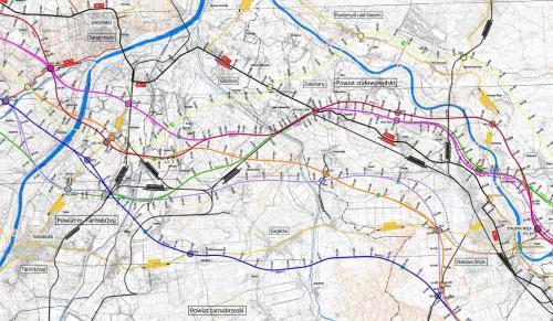 Mapa Drogi Ekspresowej S74 Odcinek Sandomierz Stalowa Wola
