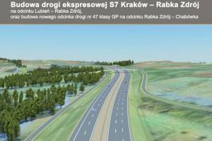 Jest umowa na Zakopiankę: S7 Skomielna – Rabka Zdrój i DK47 Rabka Zdrój – Chabówka