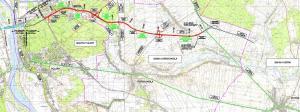 Droga ekspresowa S17/S12 od obwodnicy Puław do węzła Kurów - mapa przebiegu