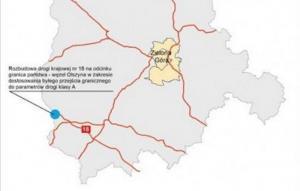 Przebudowa A18 - przejścia w Olszynie znacznie poza budżetem