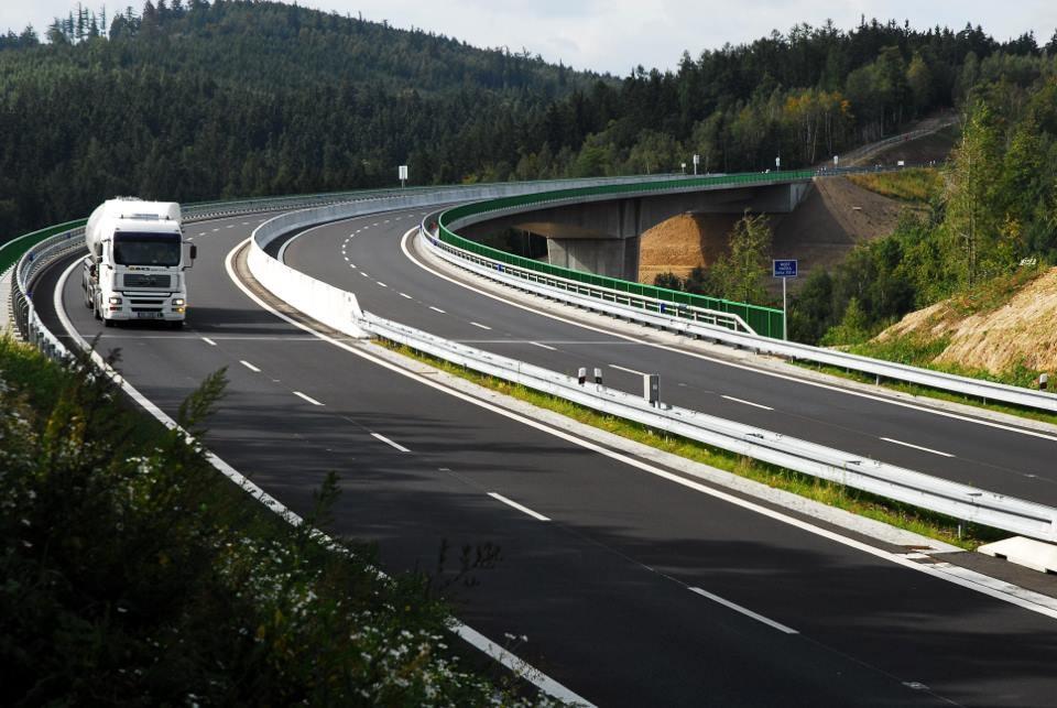 Mapa samochodowa Czech – autostrady, opłaty