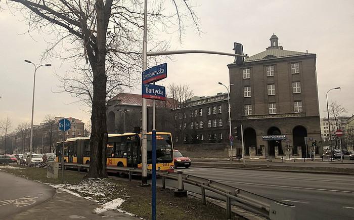 Powstanie projekt ul. Bartyckiej na Mokotowie w Warszawie