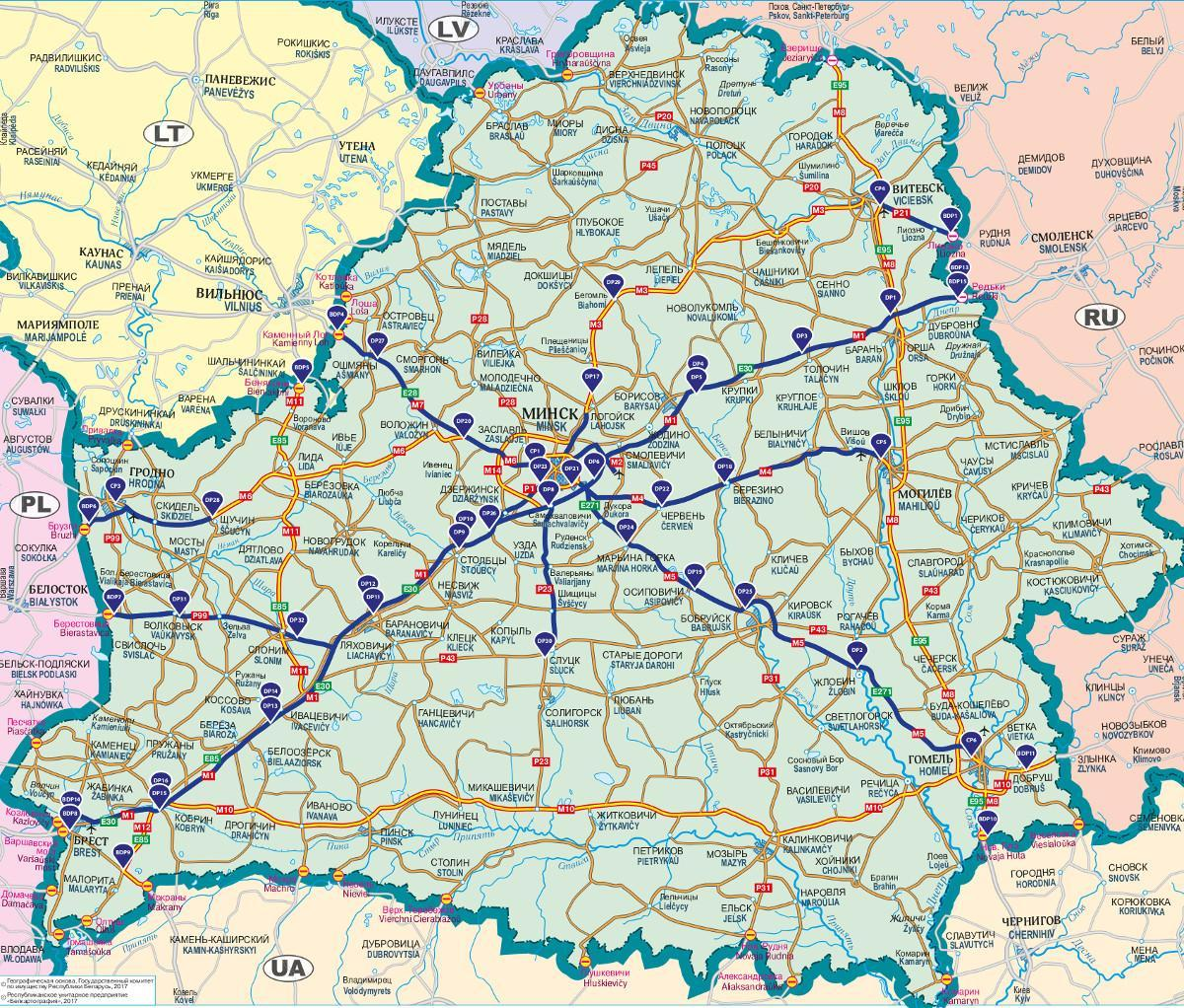 Opłaty za drogi na Białorusi - system Beltoll
