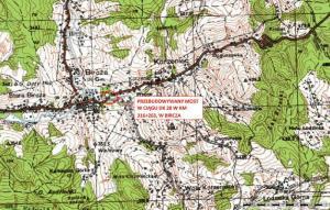 Podkarpackie: Ruch po moście tymczasowym na DK28 w Birczy