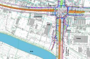 Bydgoszcz stara się o dotację na most na Brdzie, Kujawską i Toruńską