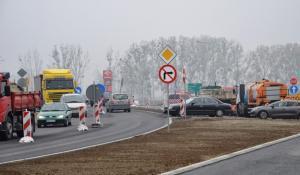 Opolskie: Rondo DK46 i DK94 w Karczowie częściowo pod ruchem
