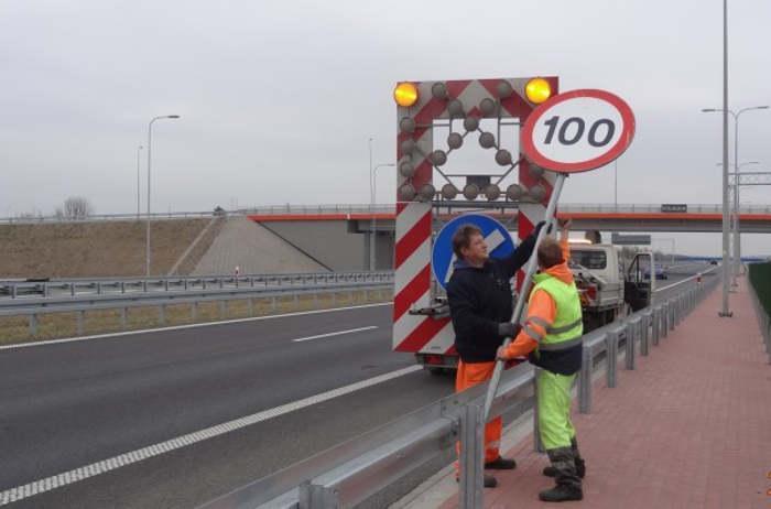 Pierwsze pożegnania z ograniczeniem prędkości na S8 Warszawa - Białystok