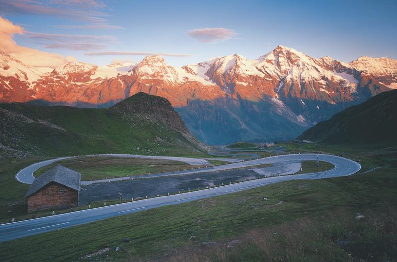 Sieć dróg w Austrii jest bardzo dobrze rozwinięta