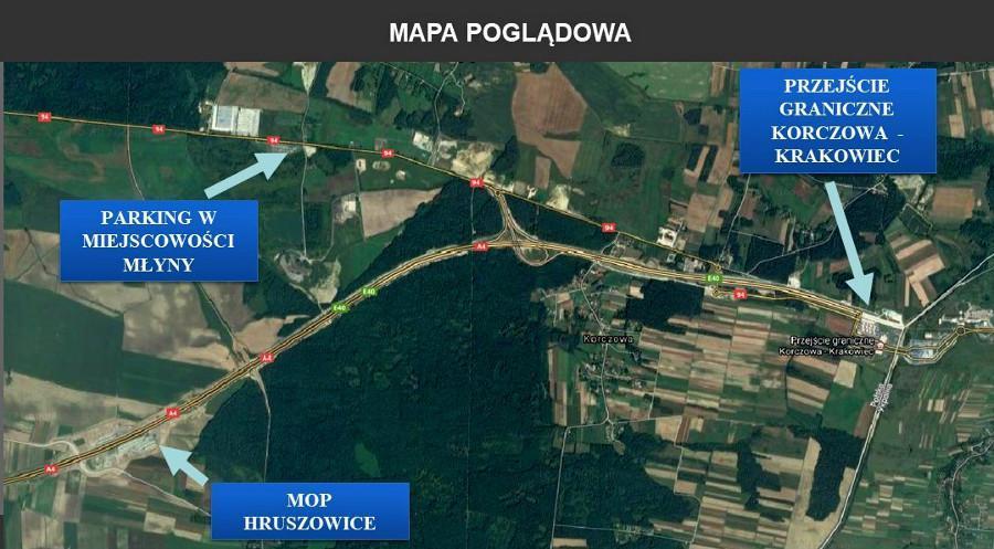 Poprawi się dojazd do przejścia granicznego w Korczowej