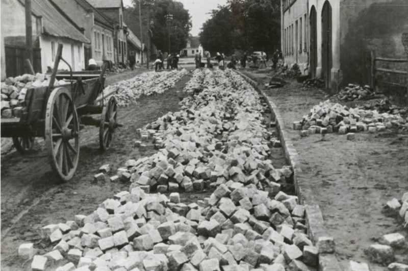 Budowa dróg z kostki granitowej