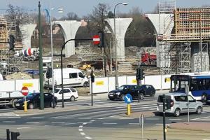 Kraków: W weekendy zamknięte skrzyżowanie Dekerta i Romanowicza
