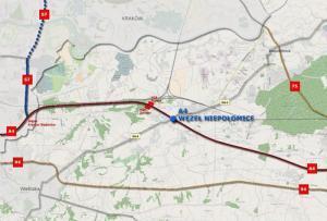 Wkrótce budowa węzła Niepołomice na autostradzie A4