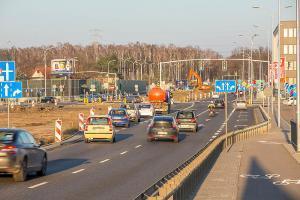 Warszawa: Inaczej jedziemy na skrzyżowaniu ul. Marsa z Chełmżyńską i Żołnierską