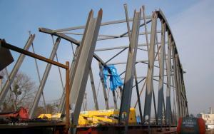 W Braniewie powstaje most nad Pasłęką